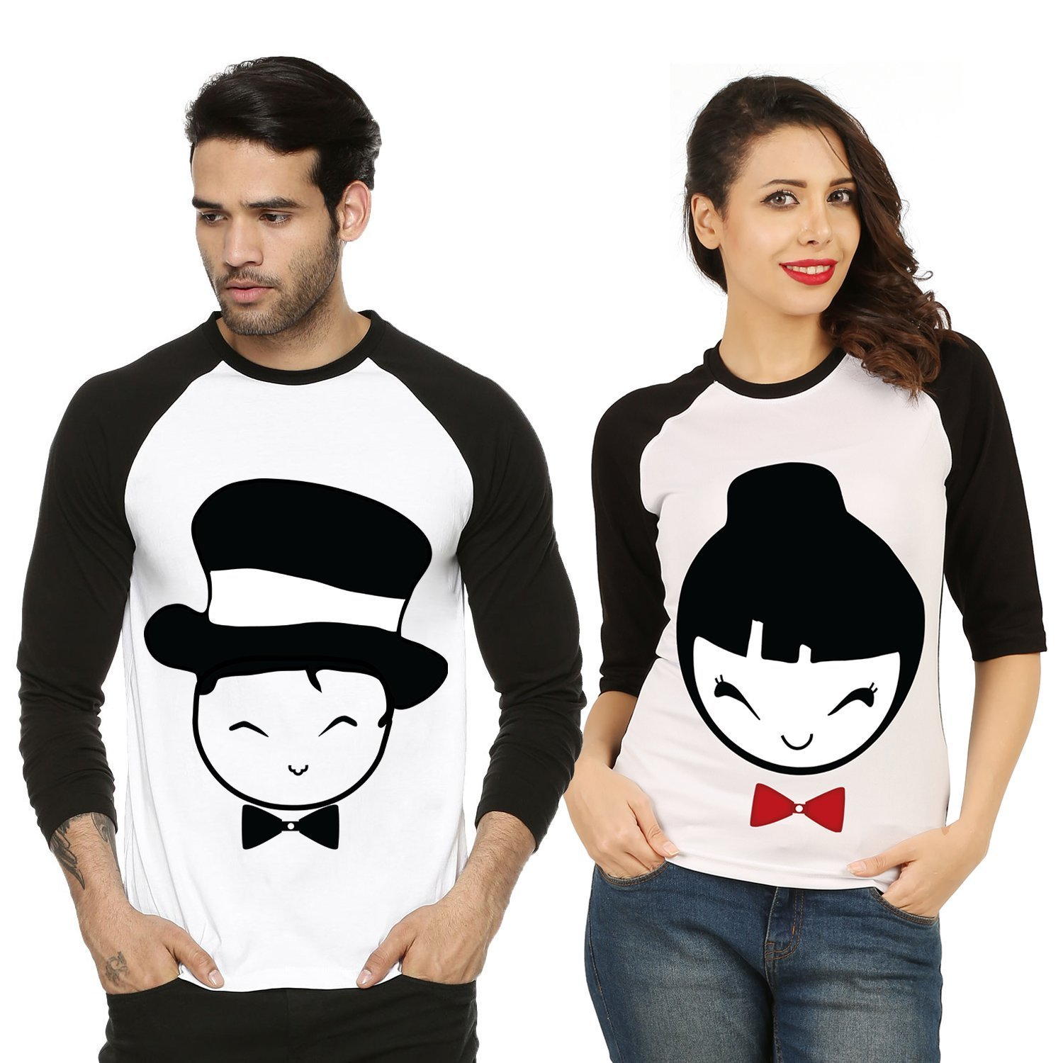 461ac5207 Couples T Shirts Online India | Top Mode Depot